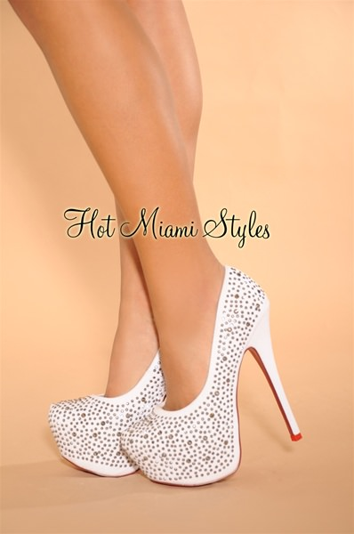 White And Red Heels mG8BfIBn
