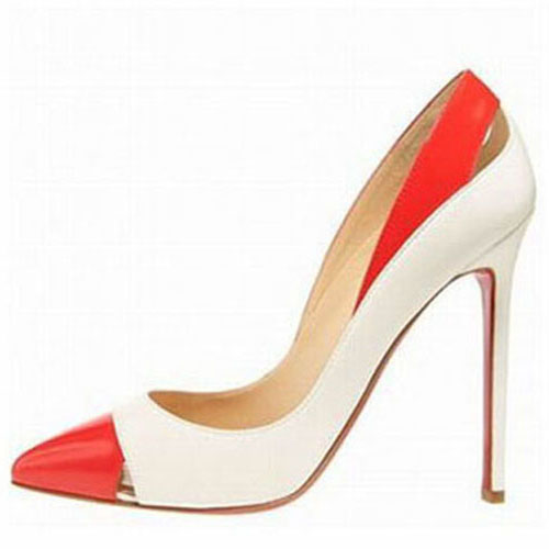 White And Red Heels urw4DpSd