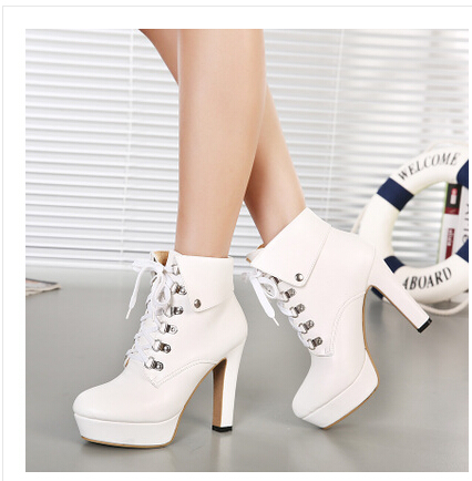 White Boot Heels j5EoseoY