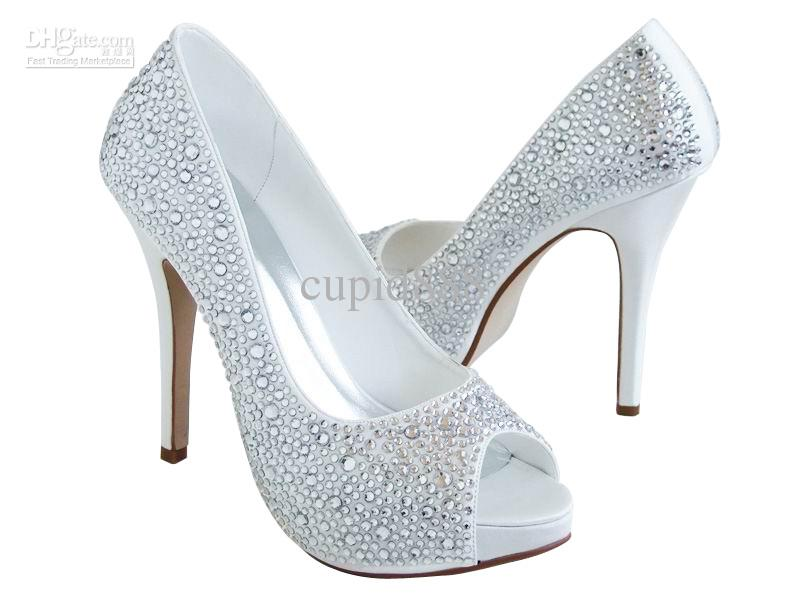 White Diamond Heels IdLenuqd