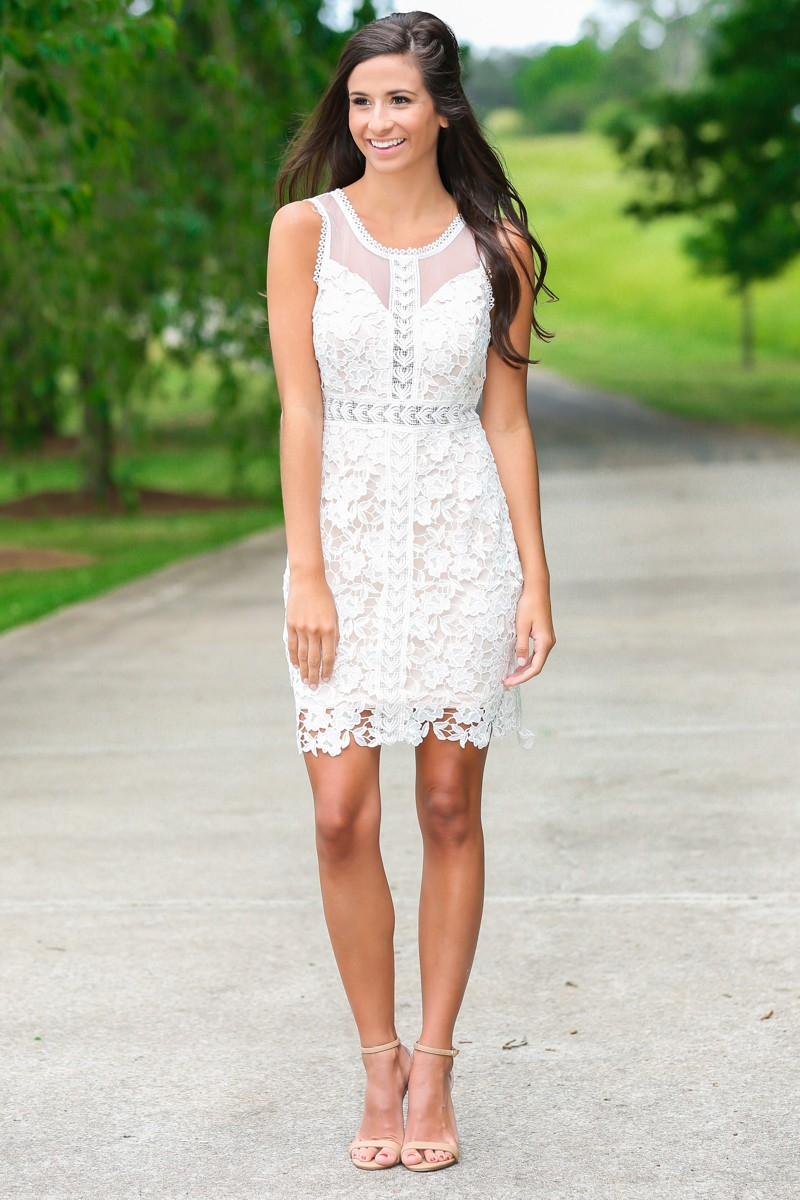 White Dress And Heels sn6MBXNQ