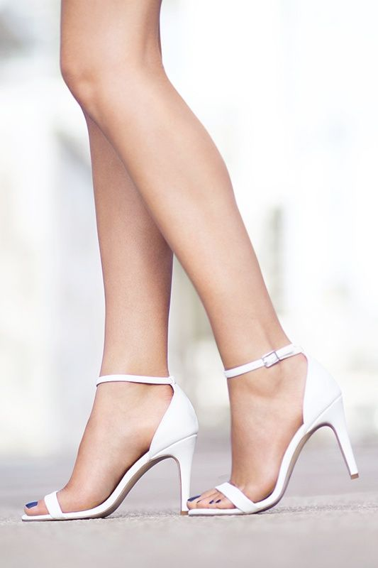 White Formal Heels cd4rm5To