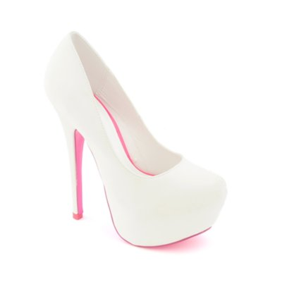 White Heel Pumps qy7UBK26