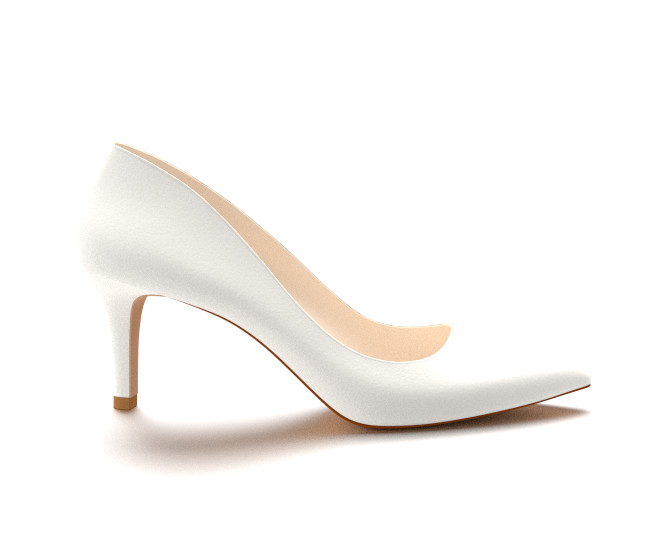 White Heel Pumps YHnrWk6x