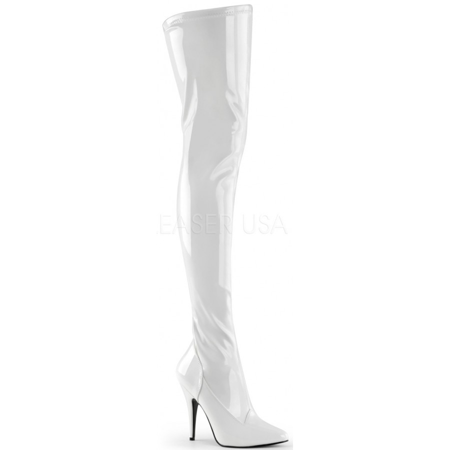 White High Heel Boots 9uhEOEml