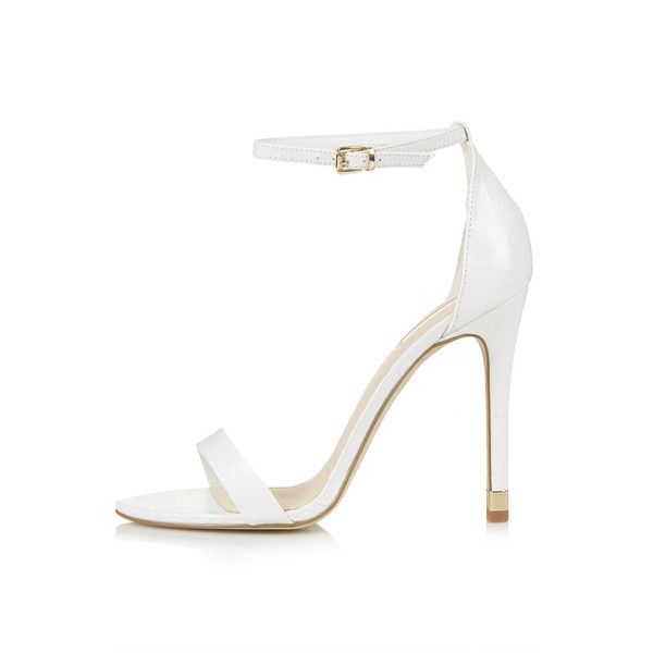 White High Heel Sandals 4XLATE0O