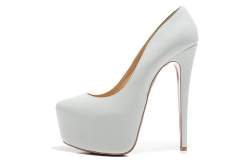White High Heels Pumps WM5HkEGa