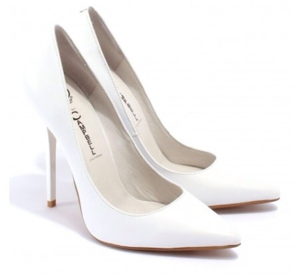White High Heels Pumps f6e49nHq