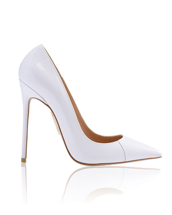 White Patent Heels MeapSdUp
