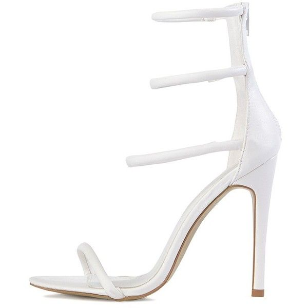 White Sandals With Heel d4EoaCf3