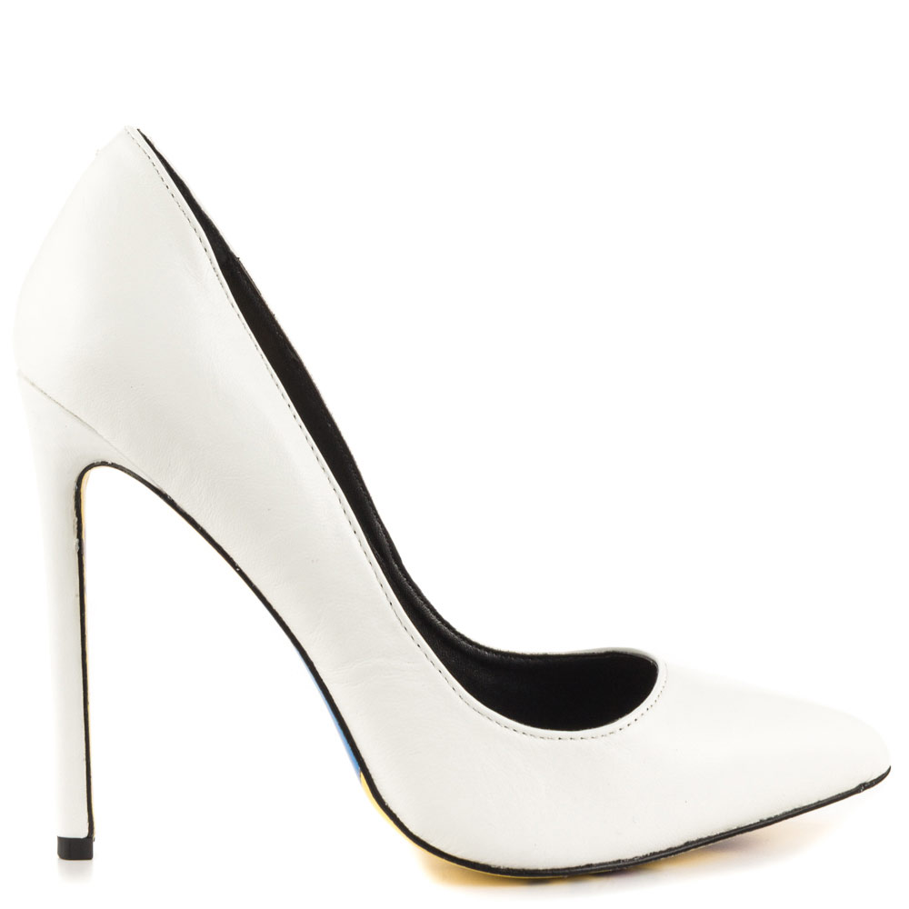 White Shoes Heels a8g933ym