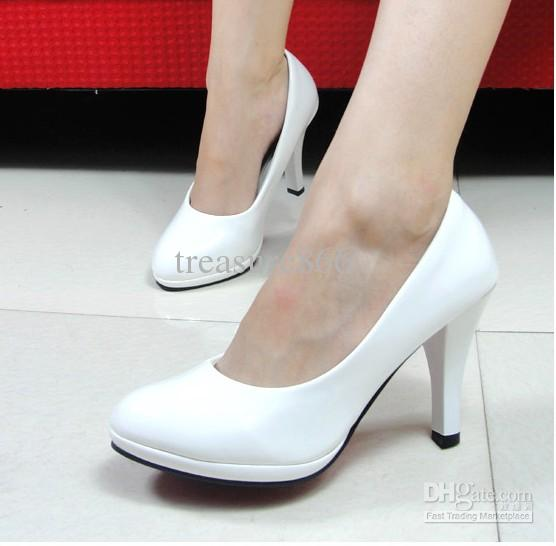White Shoes With Heels y9tuf6z1