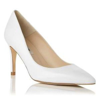 White Small Heels Gnlf4Ckm