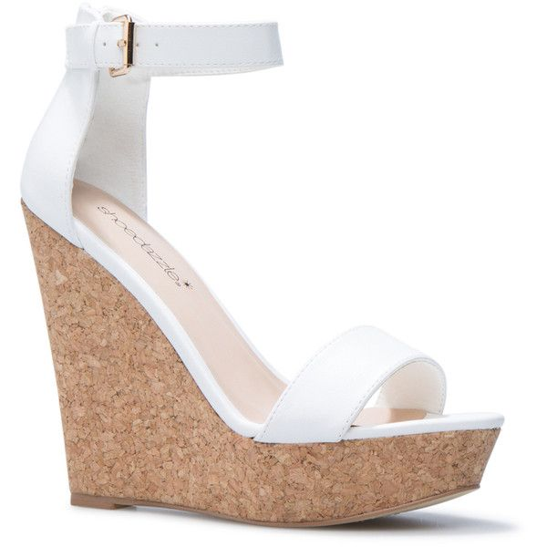 White Wedge Heels l15IkpBl