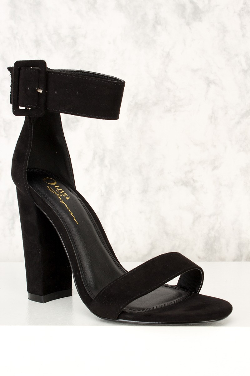 Wide Ankle Strap Heels pVkPPNYi