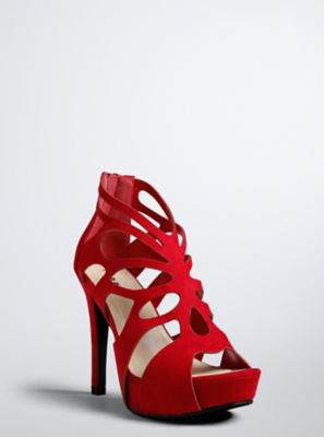 Wide Red Heels jk0MikvK