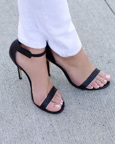 Wide Strappy Heels ECO5aHld