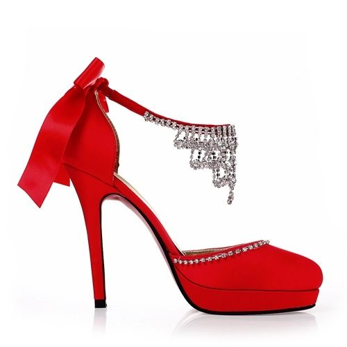 Wide Width Red Heels i0XBXqpH