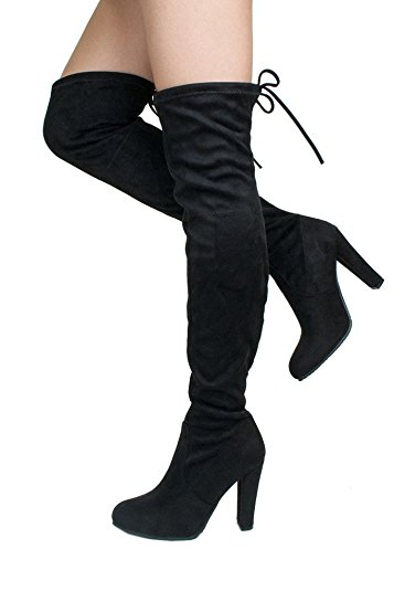 Womens High Heel Booties FqmR3NWB