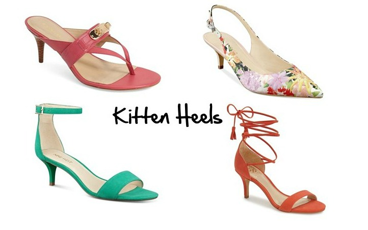 Womens Kitten Heel Shoes BjXHFDku