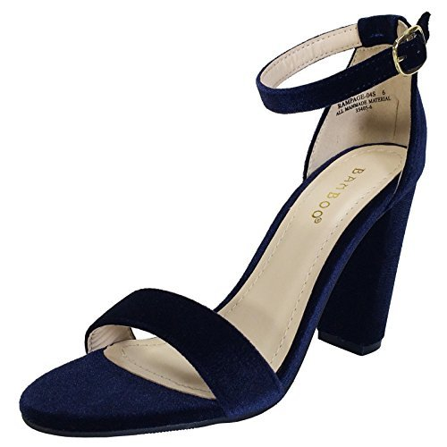 Womens Navy Blue Heels cwCK13zk