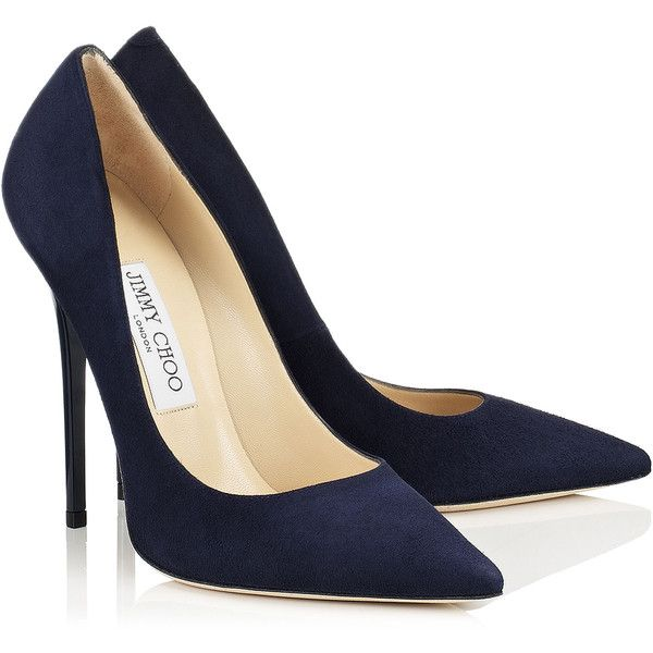 Womens Navy Blue Heels 2COQ3WnI