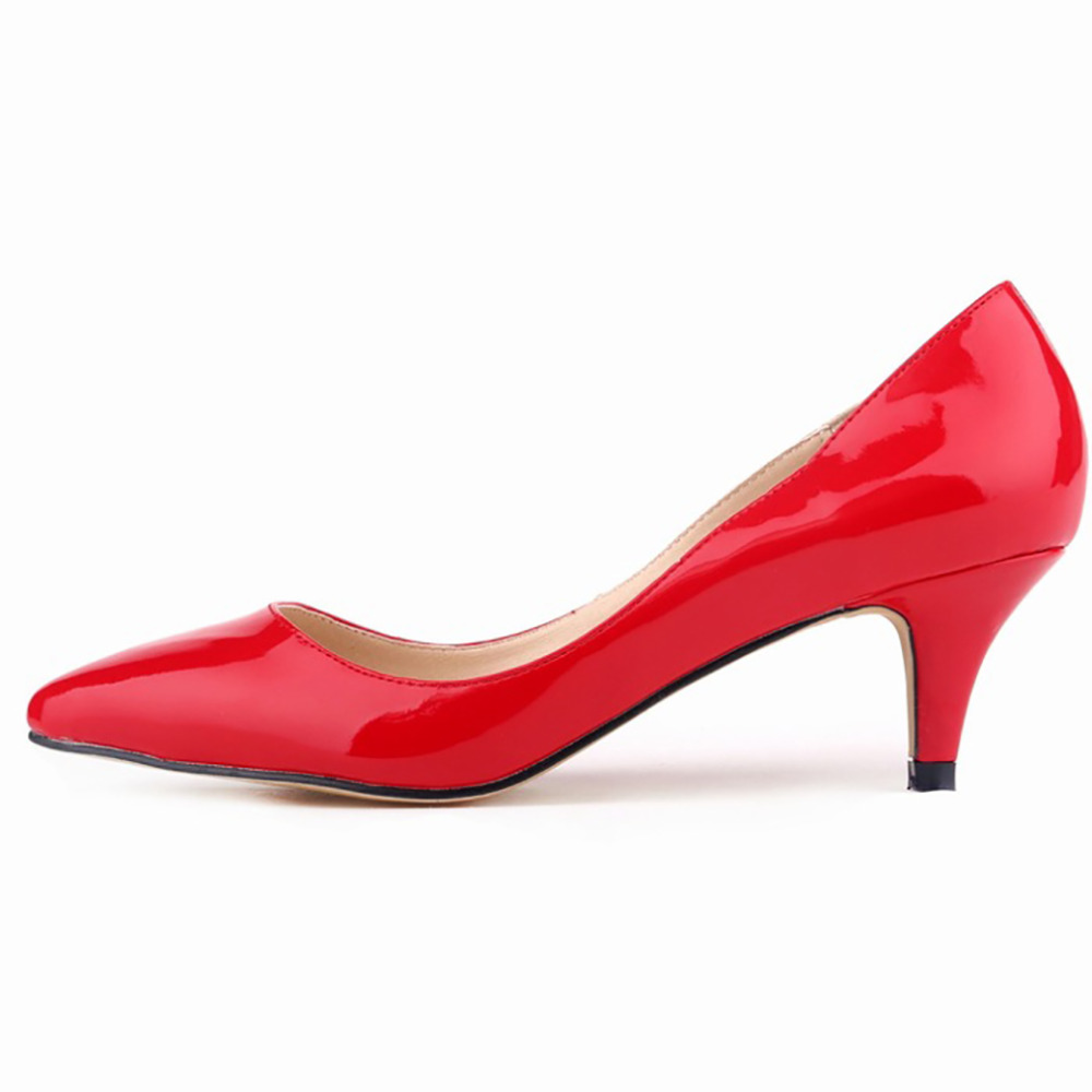 Womens Red Shoes Low Heel zpEZjkjp