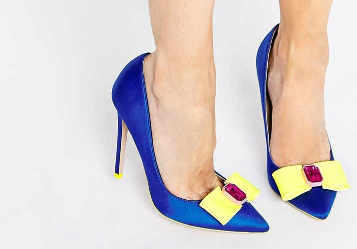 Yellow And Blue Heels FO0bpSEH