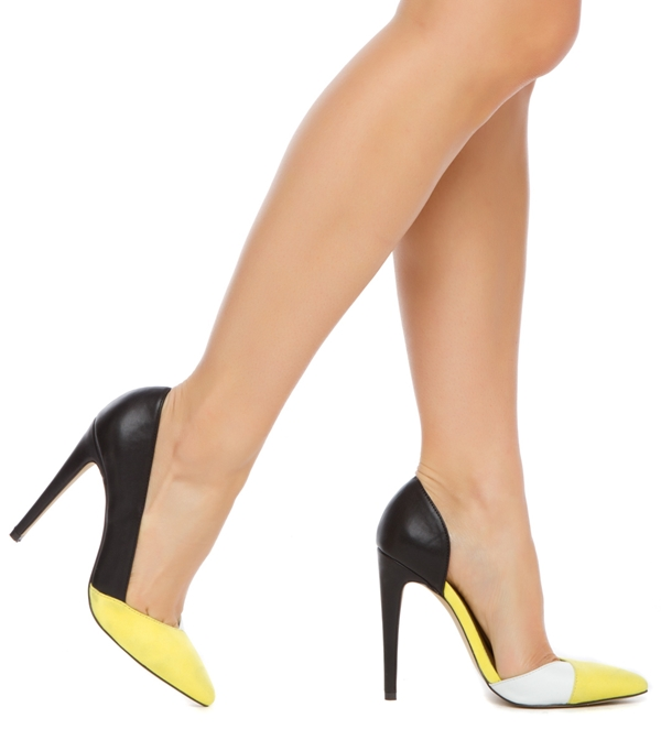 Yellow And White Heels AjzuI54h