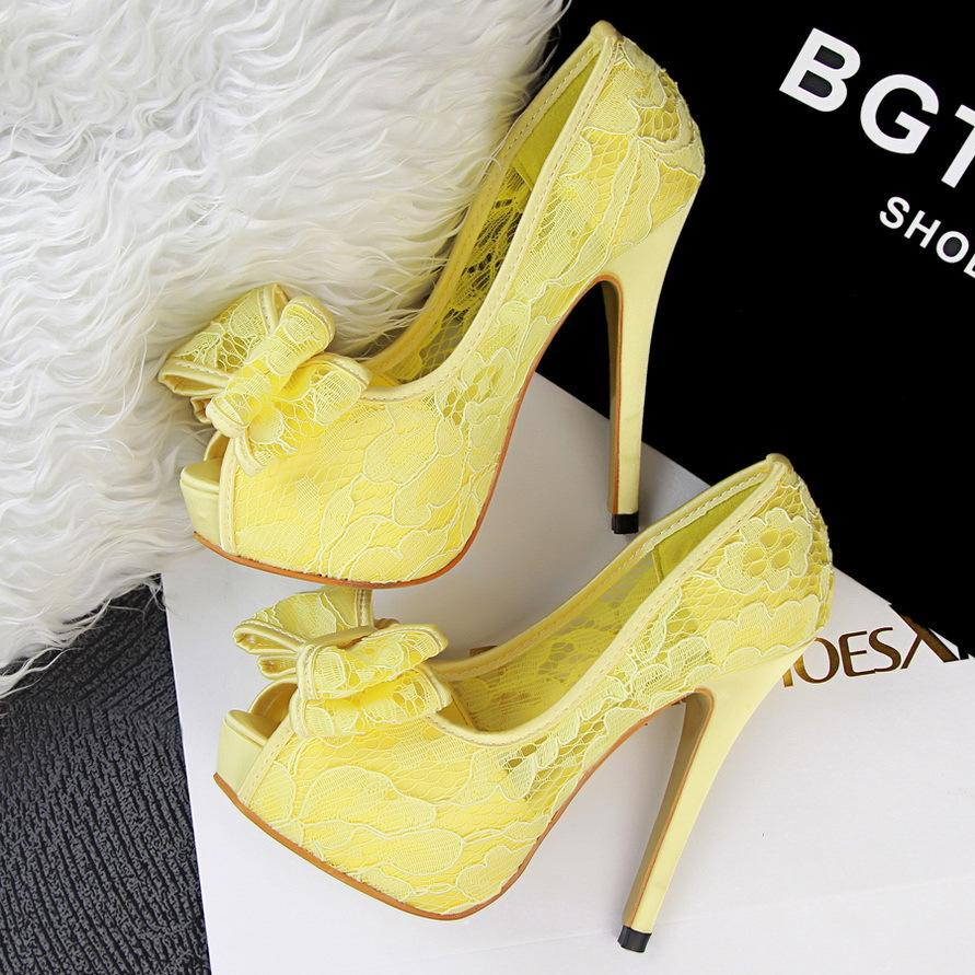 Yellow High Heels For Wedding Zsb9rloe