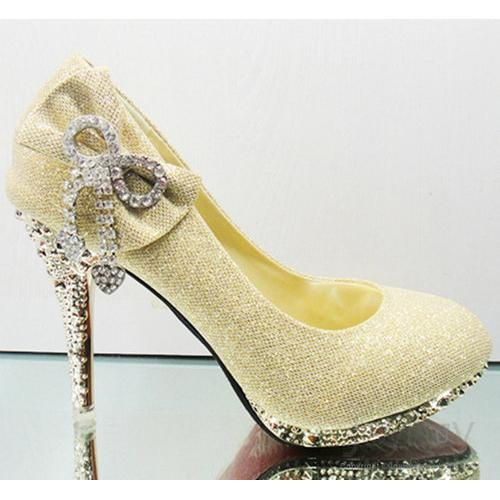 Yellow High Heels For Wedding QnH74ZEk