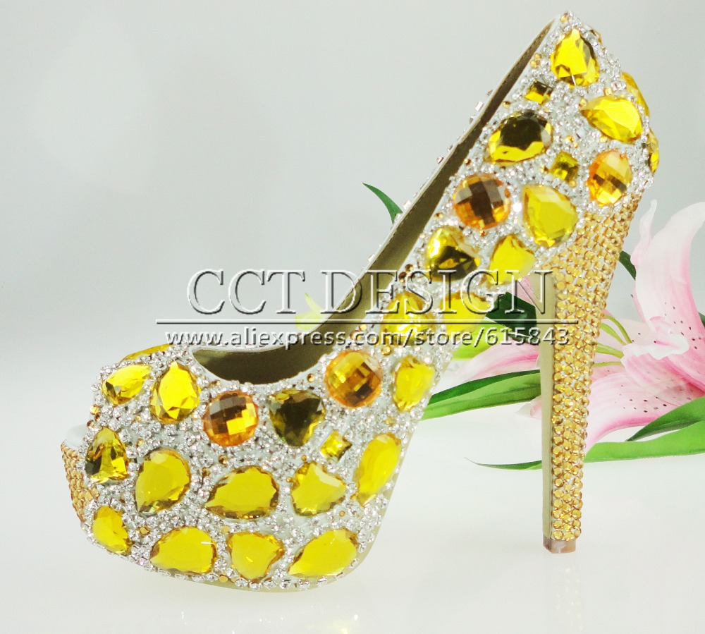 Yellow High Heels For Wedding s9QBI8MM