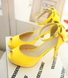 Yellow High Heels For Wedding Nss5DLxR
