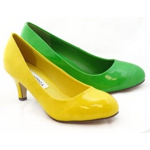 Yellow Low Heel Shoes 0swNhlTC