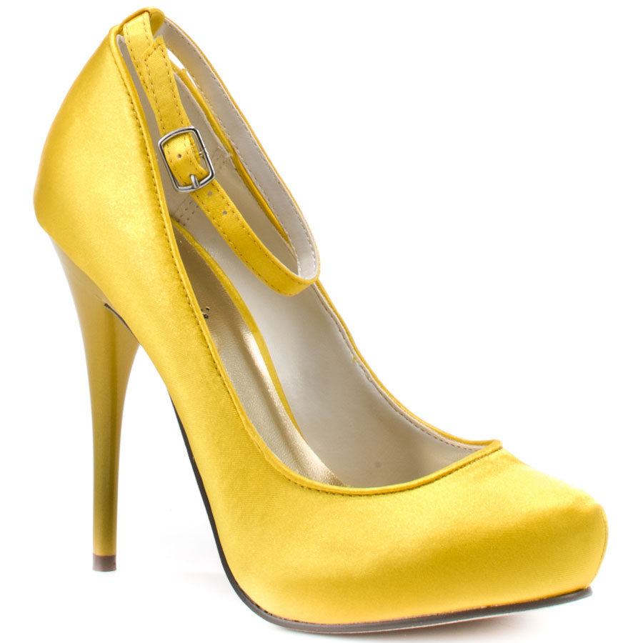 Yellow Womens Heels tttJekdL