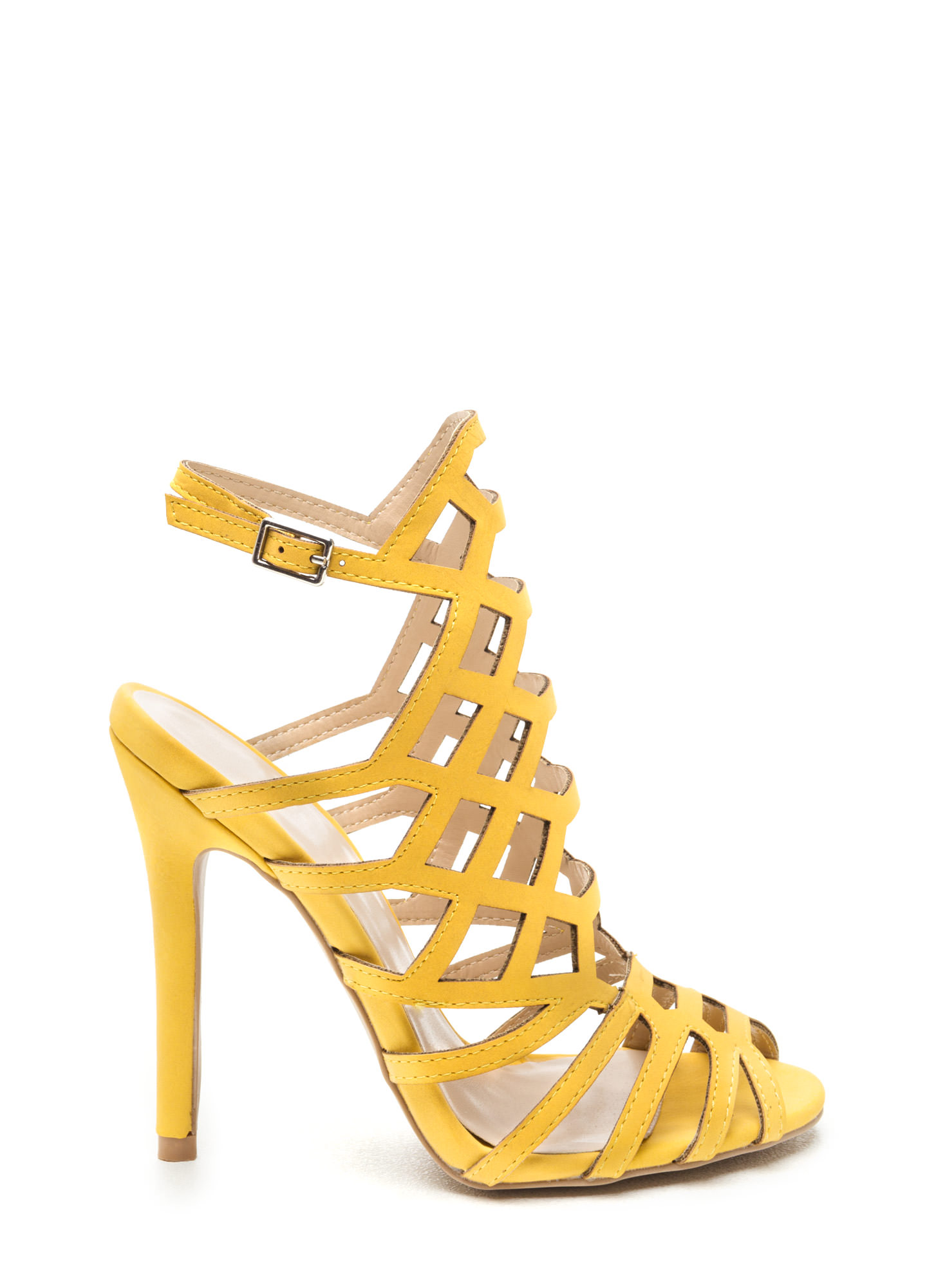 Yellow Womens Heels yiTEqfxs