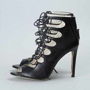 Zara Lace Up Heels KZ2tEskF