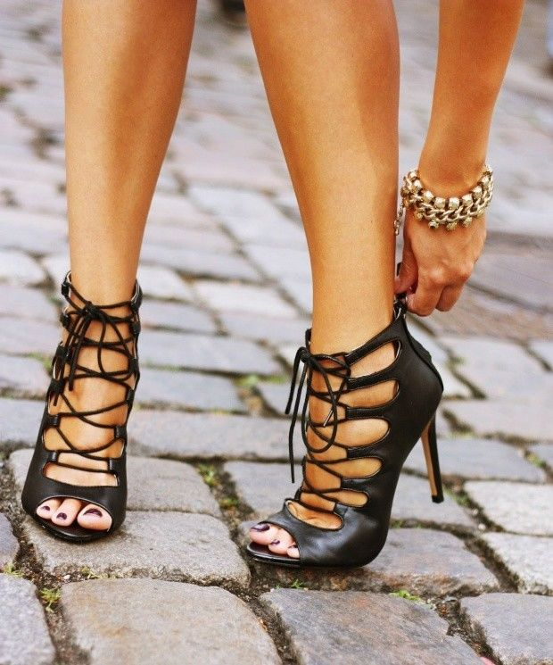 Zara Lace Up Heels 0NxP2v0j