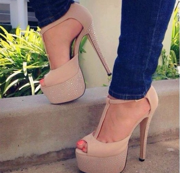 Cheap Peep Toe Heels